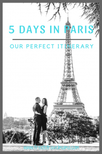Bonjour! We are so excited that you are planning a trip to Paris! Check out our top tips here based on our own amazing trip! #freetotravelmama #paris #france