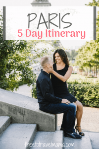 Heading to Paris? Check out our perfect 5 day itinerary with all of our favorite top tips, money saving tricks, and skipping the line secrets! #freetotravelmama #paris #eiffeltower