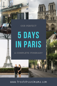 Bonjour! If you are planning a trip to Paris, we are so excited for you! Check out our top tips here based on our own amazing trip! #freetotravelmama #paris #france