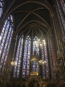 Sainte Chapelle Paris Stained Glass