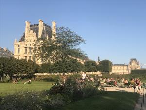 Tuileries Garden Paris Louvre