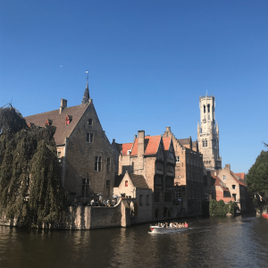 Canal Ride in Bruges