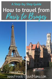 This article details how to get to Bruges from Paris or another nearby city so that you can enjoy this adorable city as much as we did. Details include how and where to buy tickets, save money, and find your way around the train stations.