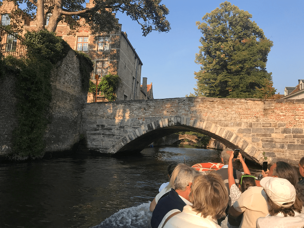 One Day in Bruges Itinerary Canal Ride