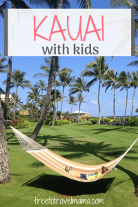 Planning a trip to Kauai with kids? Check out our favorite spots that the whole family is sure to enjoy! #freetotravelmama #kauai #hawaii