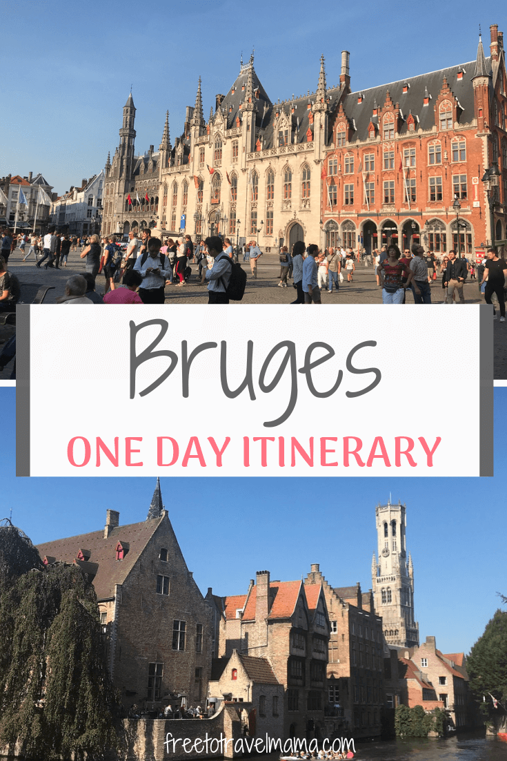 One Day In Bruges; Cobblestone streets, chocolate, and french fries are among the bet things to do in this beautiful canal city.