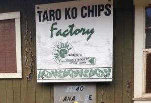 Best Things to Do in Kauai with Children #7: Visit the Taro Ko Chips Factory