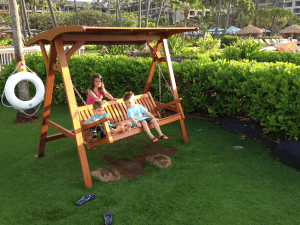 Lydgate Park in KauOne of our favorite things to do in Kauai with children: play at the Grand Hyatt Kauai