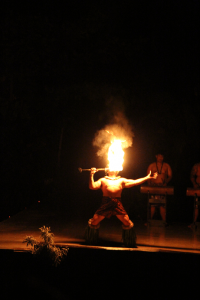 Kauai Smith Family Luau is one of the best things to do in Kauai with children. From a kid-friendly property to a kid-friendly buffet dinner to a kid-friendly show, you can't go wrong.