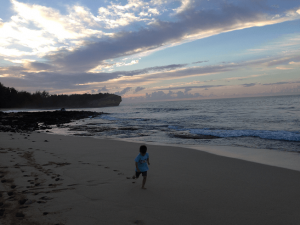 Watching the Sunrise on Kauai is one the most beautiful things I have experienced or photographed. It tops of four list of 13 of our favorite things to do in Kauai with children.