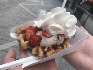 Waffles Bruges Itinerary
