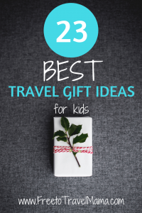 Check out our Ultimate Gift Guide for Kids who Travel. From toddlers to teens, this list is sure to give you some great ideas this holiday.