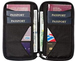 Travel Gift Idea: Family Passport Holder