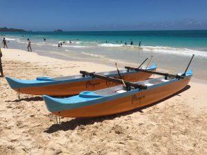 Na Kama Kai Ocean Clinic for children - Outrigger Canoes