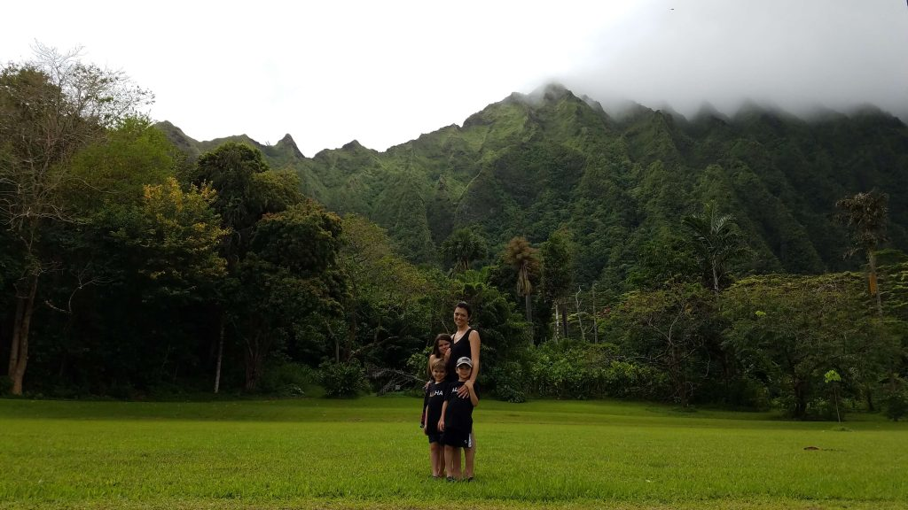 Ho'omaluhia Gardens, Hiking with Kids