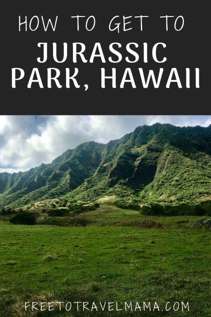 Movie fans can fulfill their dreams by visiting filming locations for Jurassic Park, Jurassic World, Kong Skull Island and many more! If you are not a movie buff, the scenery at Kualoa Ranch will still take your breath away! #freetotravelmama #oahu #hawaii #jurassicworld