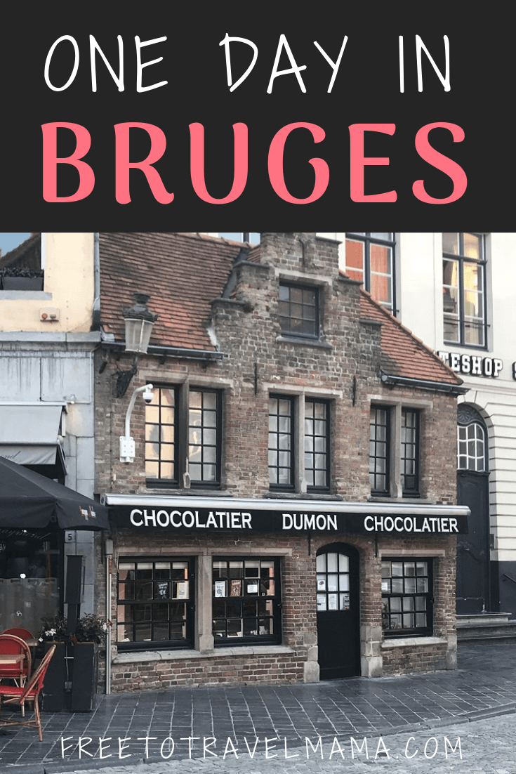 One Day in Bruges: Top things to do, food to eat, and beautiful places for photography in this Europe bucket list destination. #freetotravelmama #bruges #belgium