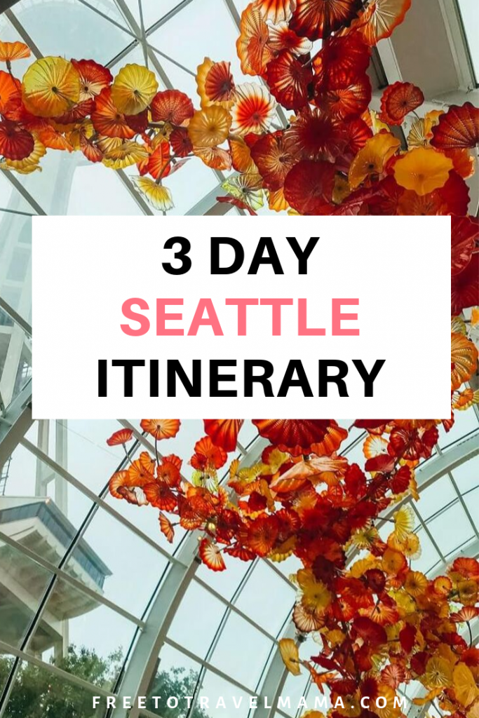 A long weekend or three days in Seattle, Washington | This gem of a city offers nature, museums, culture, trendy restaurants, and walkable spaces with modern architecture. #freetotravelmama #seattle