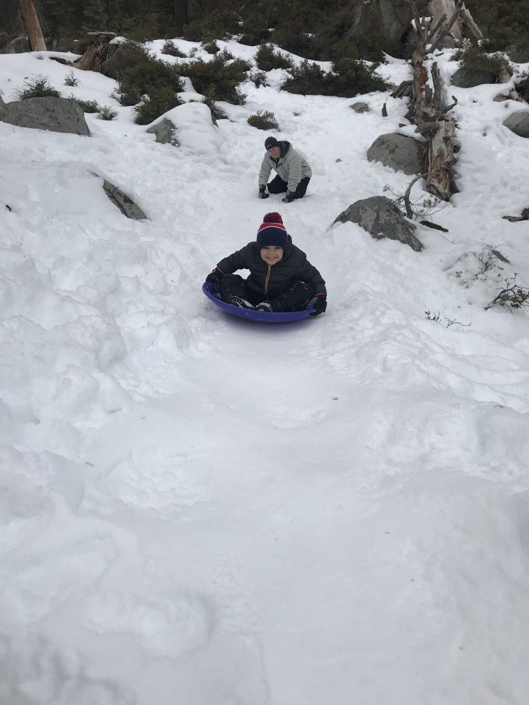 Lake Tahoe Winter Activities: Free Sledding