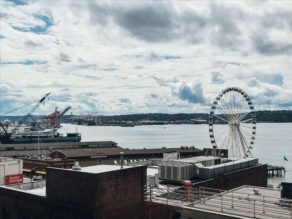 Long Weekend in Seattle Itinerary: Waterfront with Great Wheel