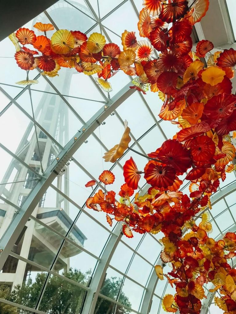Chihuly Garden and Glass in the Seattle Center