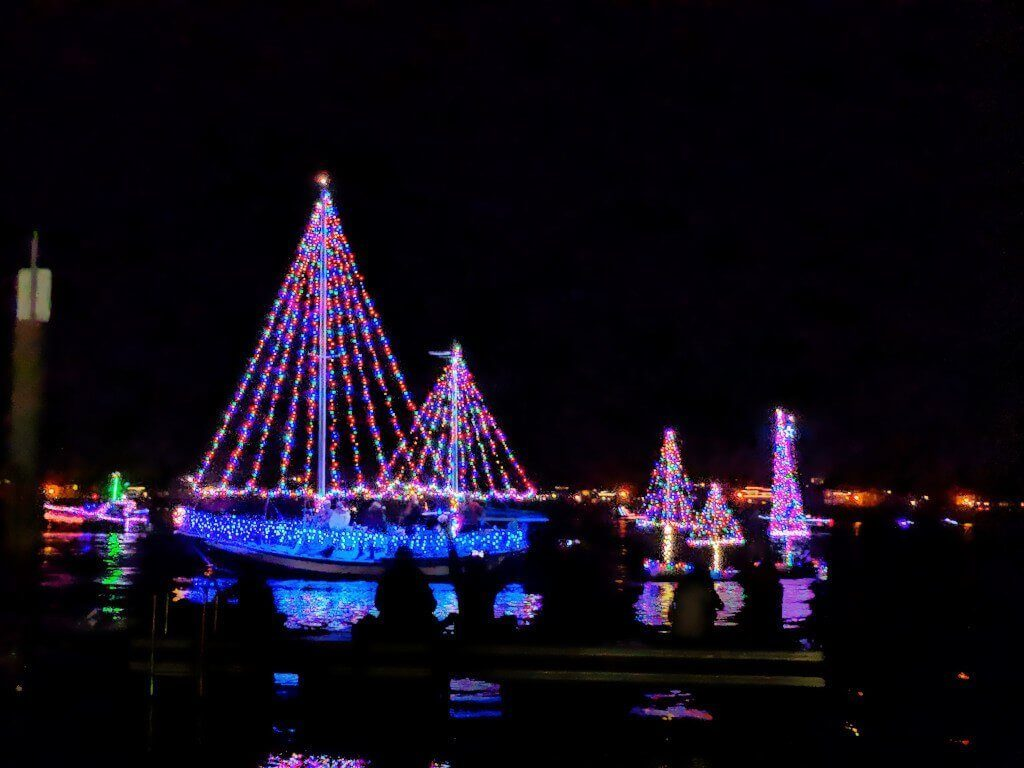 Christmas in California | San Diego Lighted Boat Parade