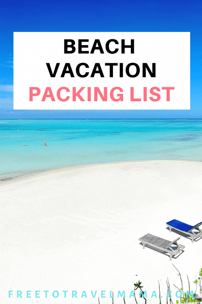 Aloha! Wondering what to pack for your trip to Hawaii? Or perhaps you are headed to California or the beautiful beaches of Sicily? We've got you covered! #beachvacation #beachpackinglist #hawaiipackinglist #freetotravelmama