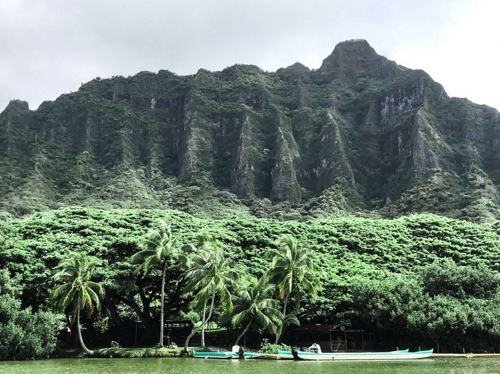 Jurassic Valley Oahu at Kualoa Ranch  #freetotravelmama | Oahu Hawaii Photography | Oahu Instagram Pictures |  Oahu Instagram Spots | Instagram Worthy Pictures in Oahu | Hawaii Instagram Pictures Oahu | Best Places for photos Oahu | Best Photo Spots Oahu