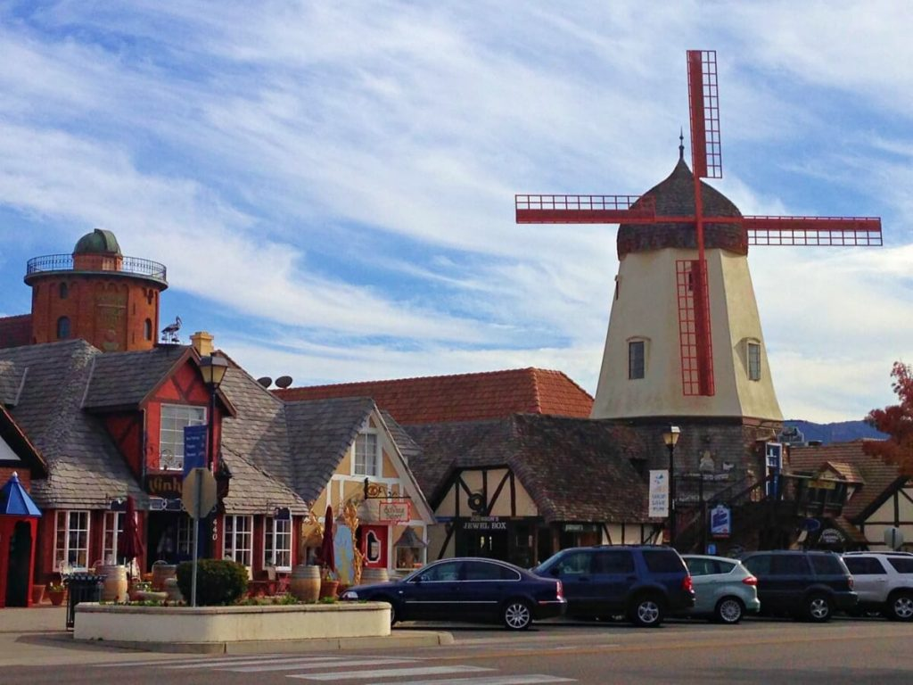 Solvang is just one stop on California's Highway 1,  San Francisco to San Diego  road trip. With kids or without, this itinerary deserves to be on all bucket lists. From Northern California to Southern California, we've got you covered with budget and luxury recommendations. #freetotravelmama #sanfrancisco #california #californiaroadtrip