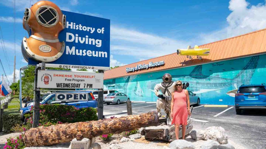 Florida Miami to Key West Road Trip - History of Diving Museum | Best USA Road Trips | USA National Parks Road Trips|  USA Road Trip Ideas | USA Road Trips with Kids | Roadtrips in the US