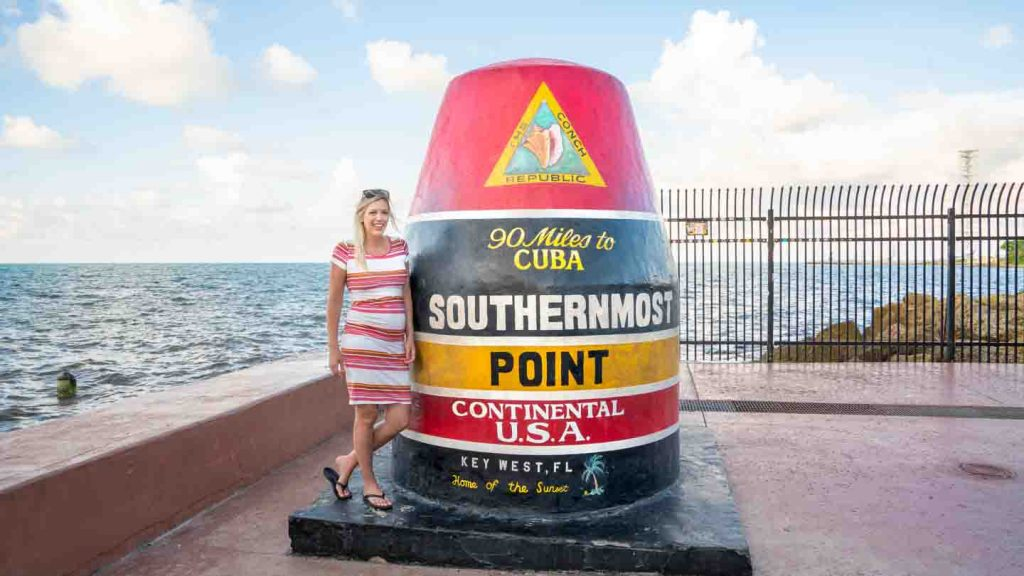 Florida Miami to Key West Road Trip - Southernmost Point | Best USA Road Trips | USA National Parks Road Trips|  USA Road Trip Ideas | USA Road Trips with Kids | Roadtrips in the US